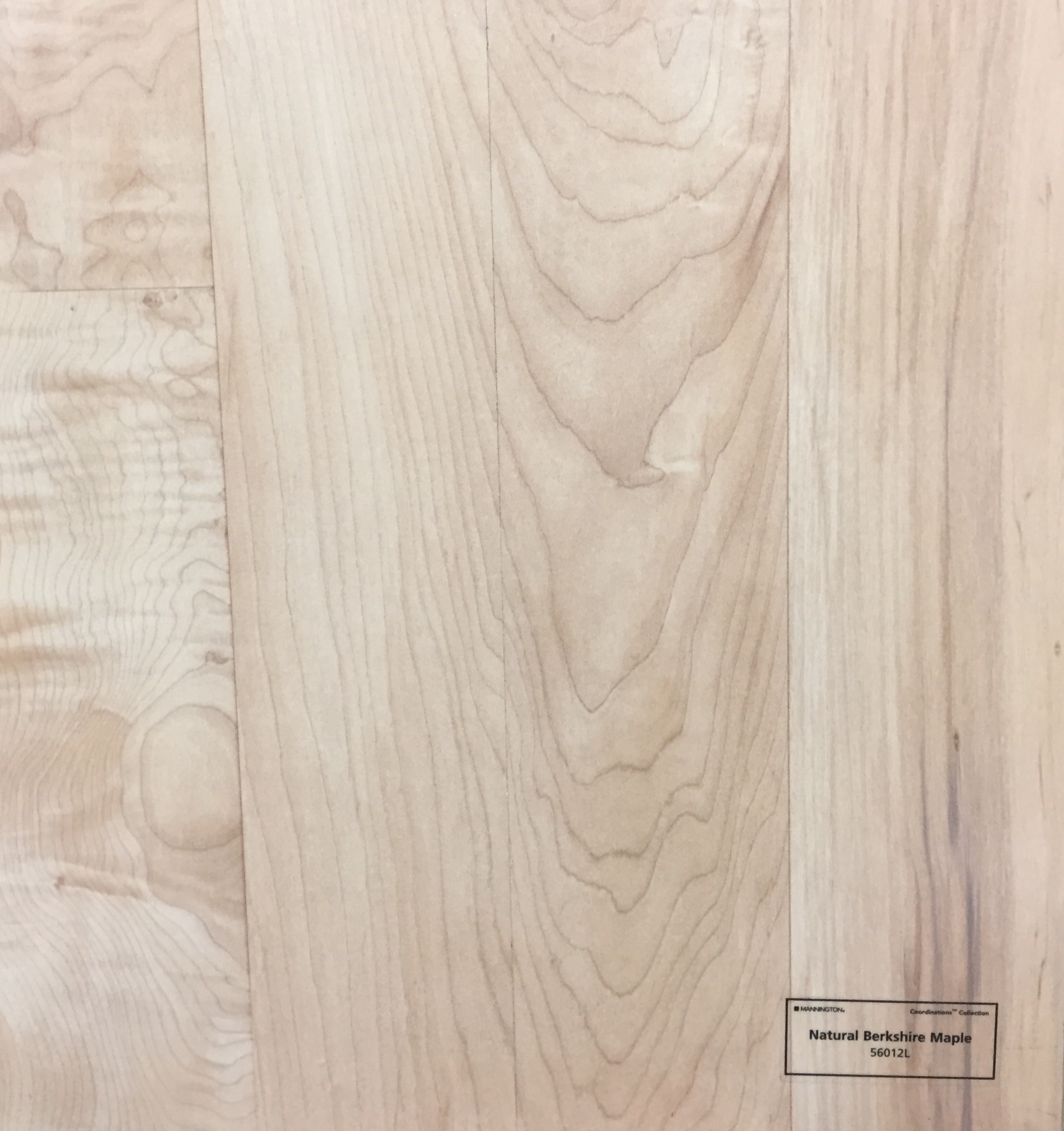 Natural Berkshire Maple - 56012L
