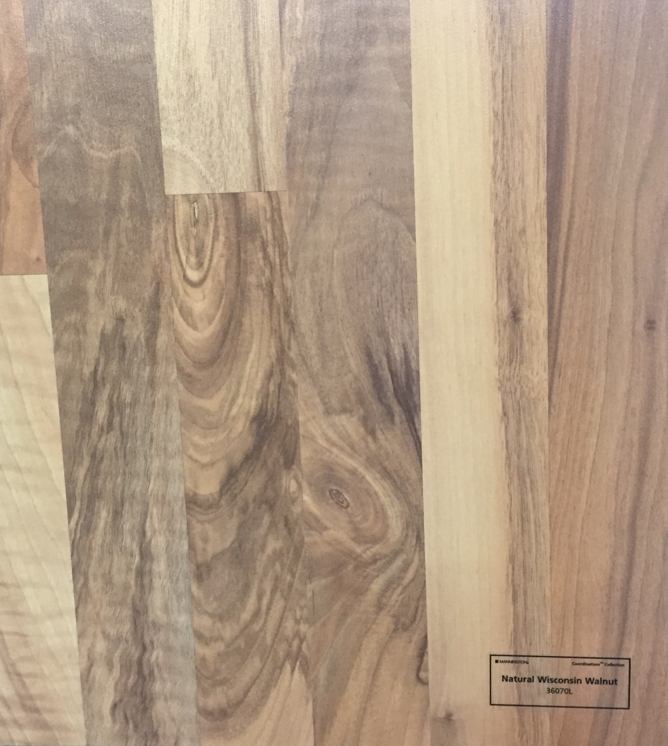 Natural Wisconsin Walnut - 36070L