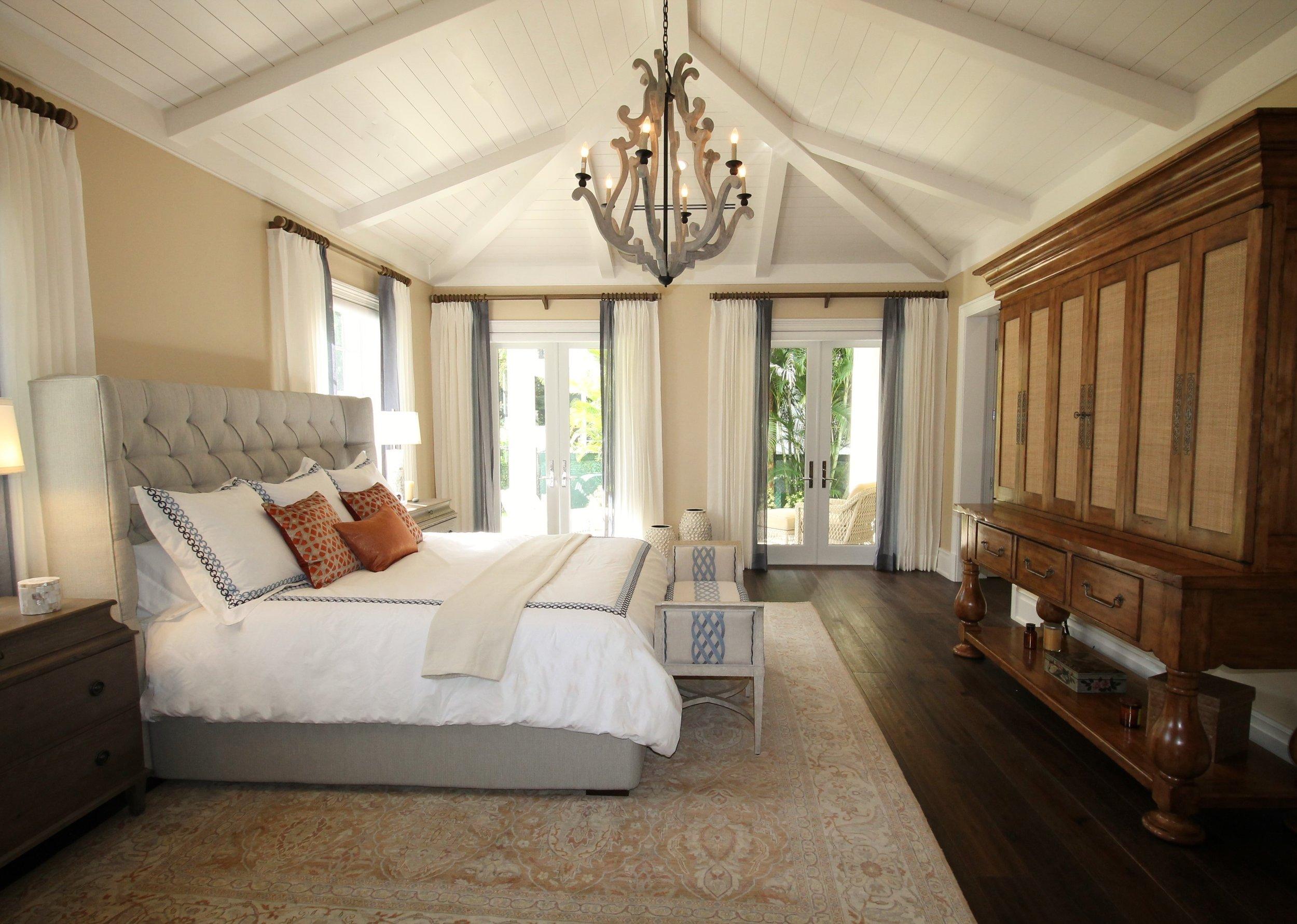 draperies, sheer shades, bedroom decor
