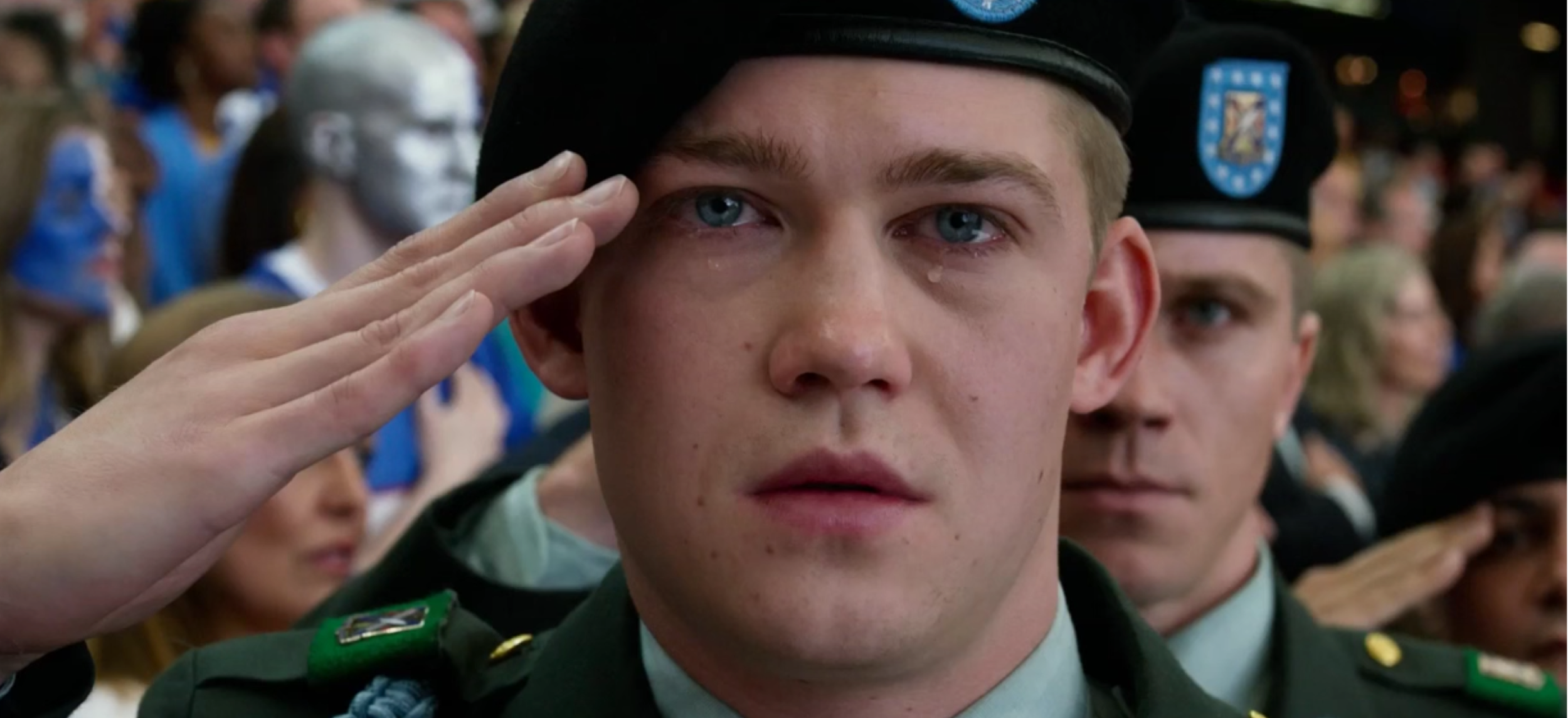 "Joe Alwyn in  ""Billy Lynn's Long Halftime Walk.""   Dir. Ang Lee (""Life of Pi,"" ""Brokeback Mountain"") (Nov. 11)"