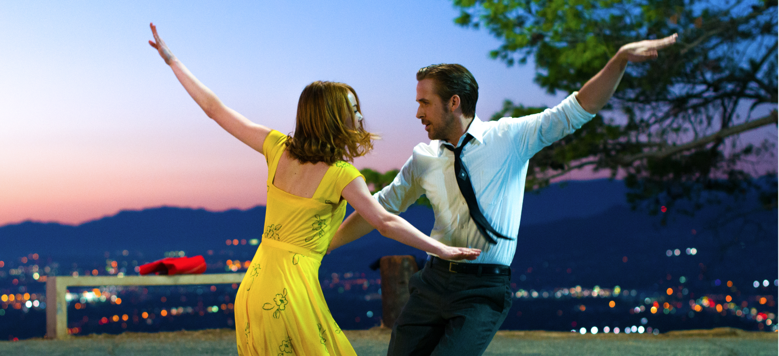 "Emma Stone and Ryan Gosling in  ""La La Land.""   Dir. Damien Chazelle (""Whiplash"") (Dec. 2)"