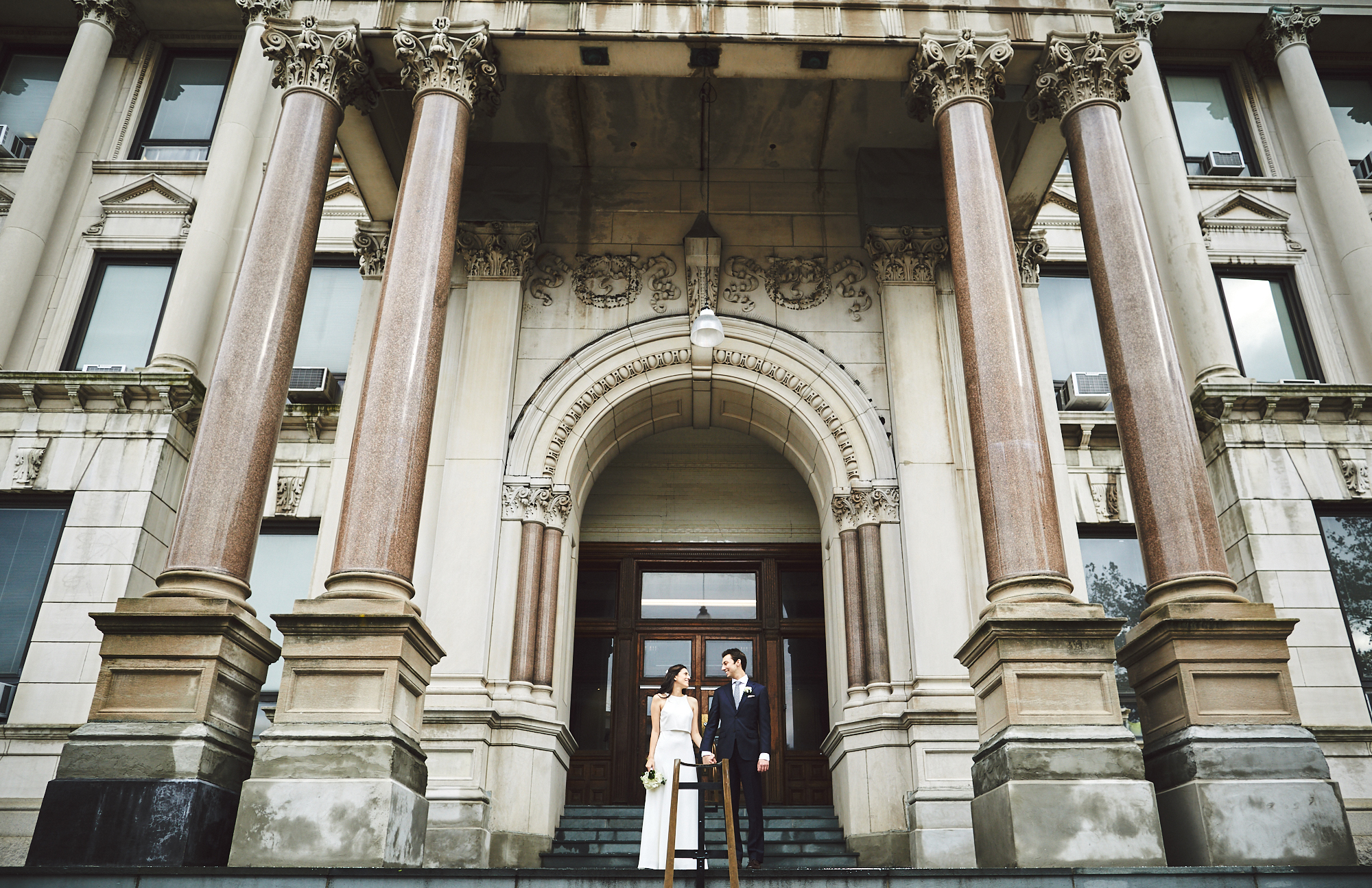 Alexa & Chris: Jersey City, City Hall   weddings