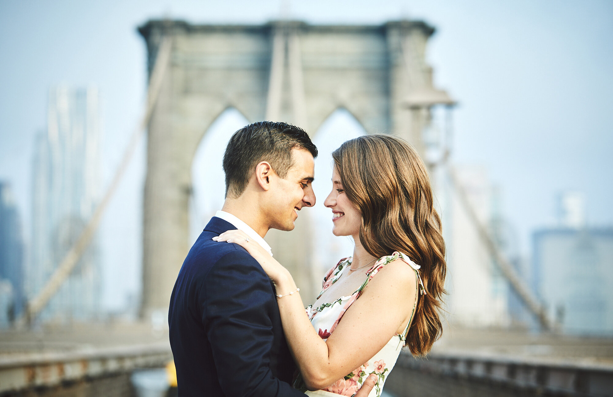 Michael & Michelle: DUMBO, NYC   engagements