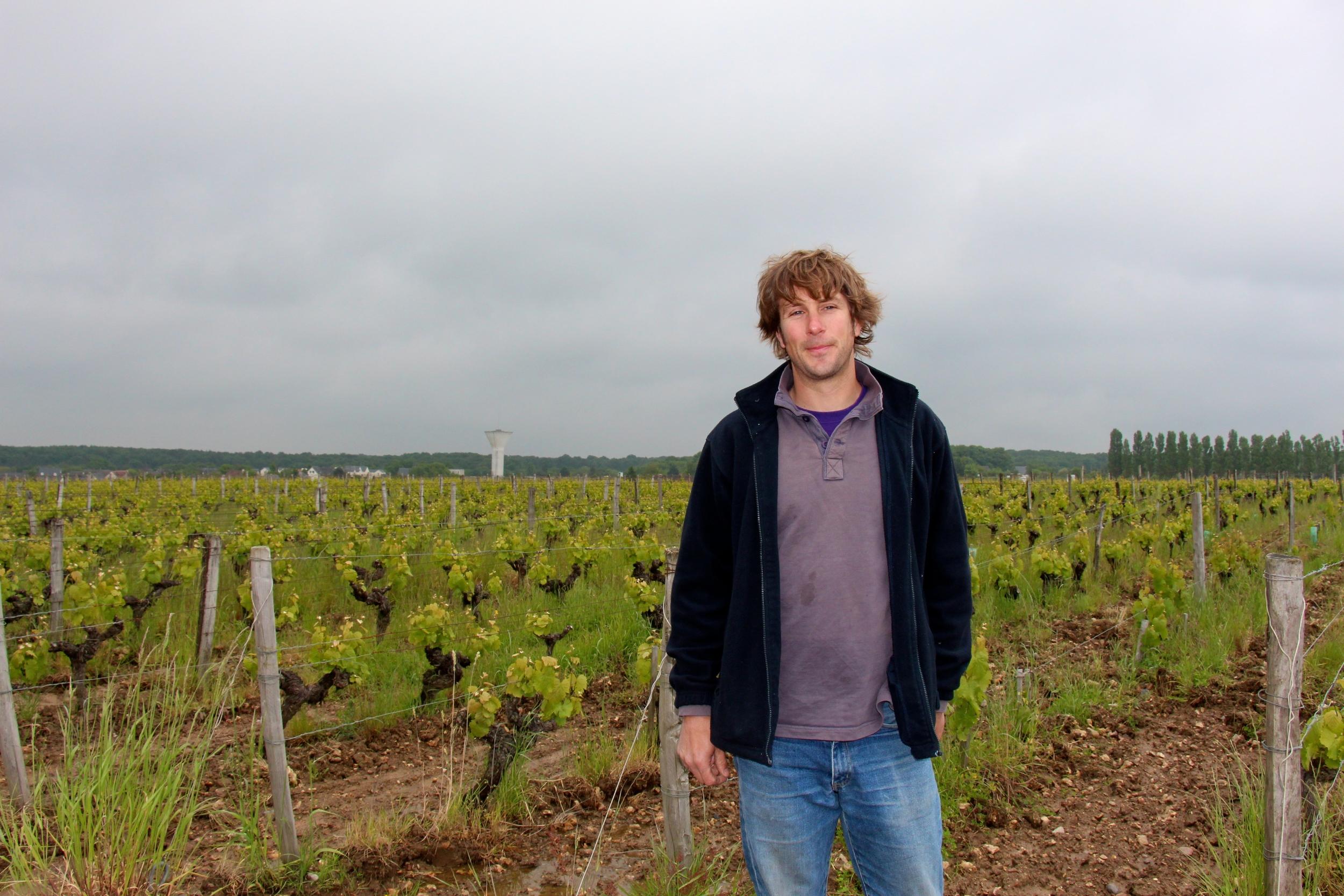 Damien Delecheneau of La Grange Tiphaine
