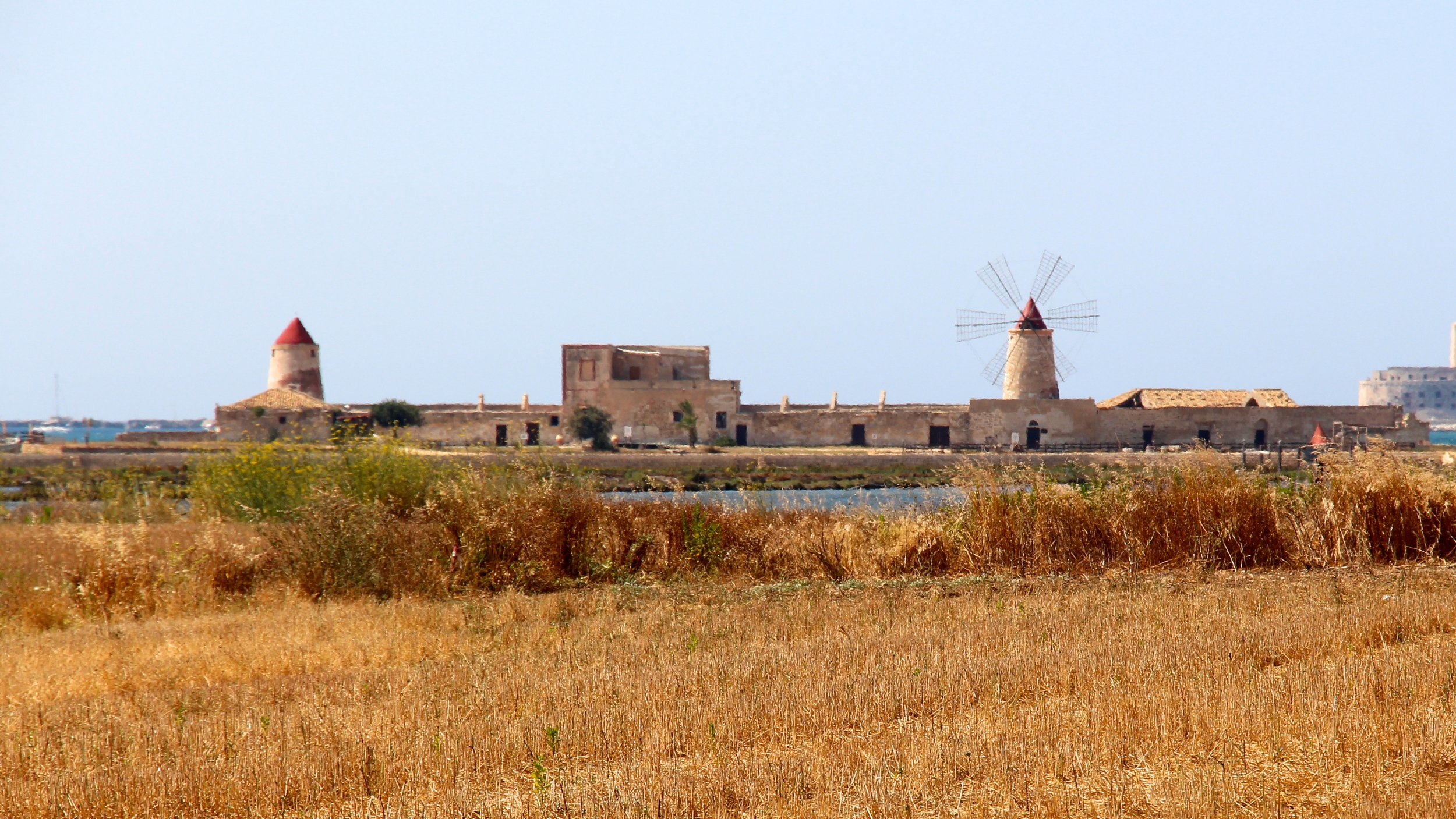 Le Saline, Salt Ponds and Windmills, Trapani