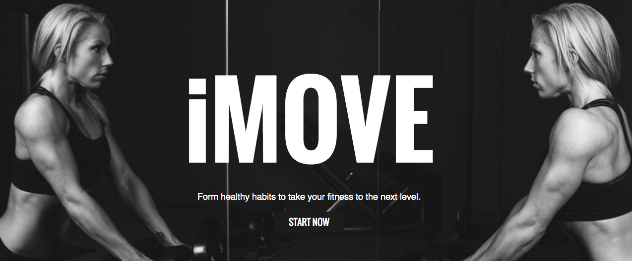 Fitness Tracker | Landing Page