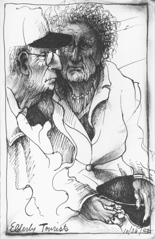 Elderly Tourists