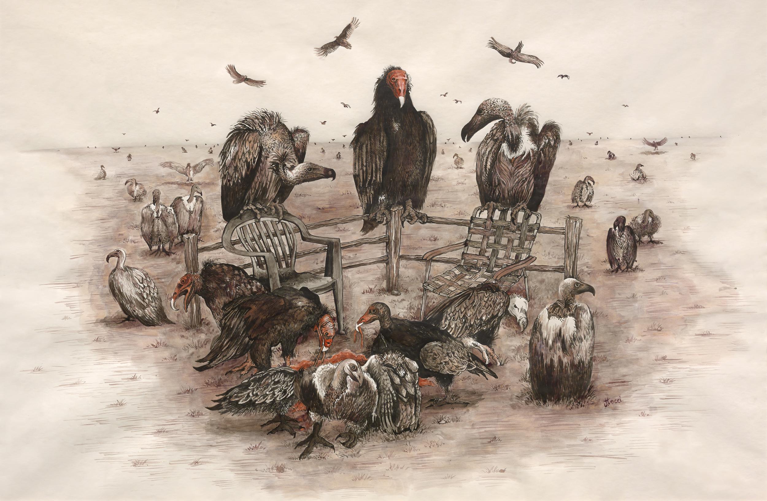 The Buzzard's Last Supper