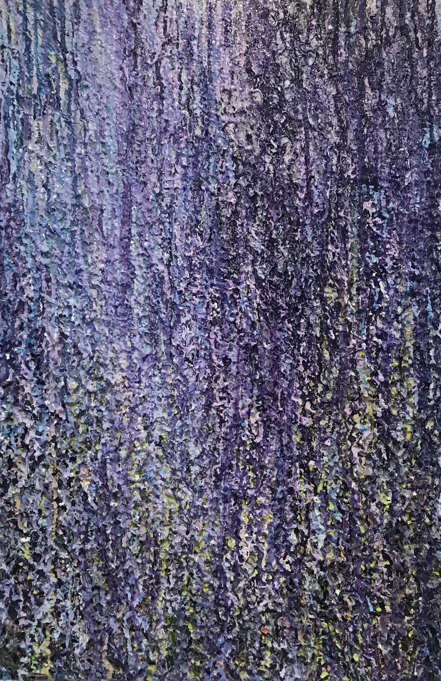 Available ~ Wisteria ~ 75 x 50cm ~ $950