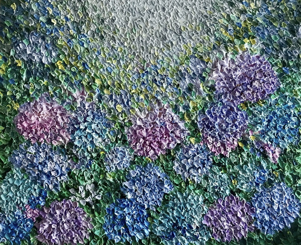 Available ~ Floral series ~ 50 x 60cm ~$695