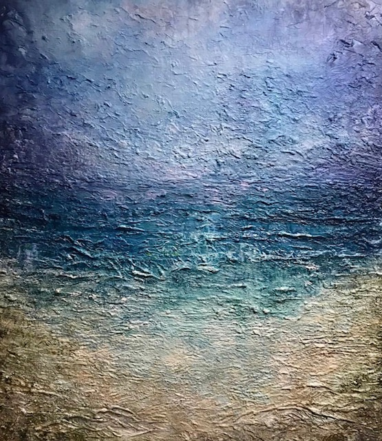 AVAILABLE ~ Ocean series ~ 1m x 90cm ~$1800