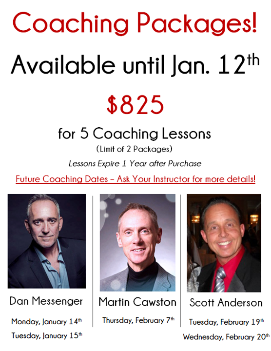 💃 Coaching Packages Available Now! 💃 - http://bit.ly/2SzKRFR