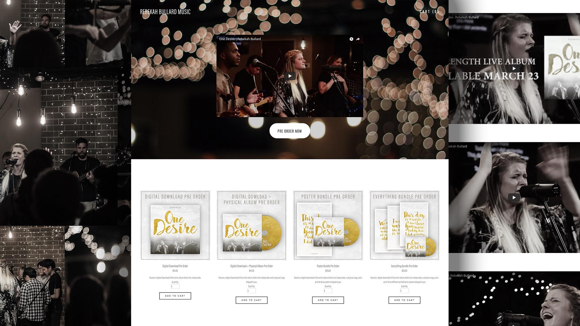 Website & Merch Store