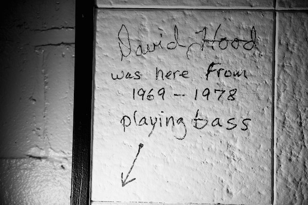 The writing on the wall: inside Muscle Shoals Sound Studio.