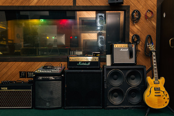 Inside F.A.M.E. Studios in Muscle Shoals.