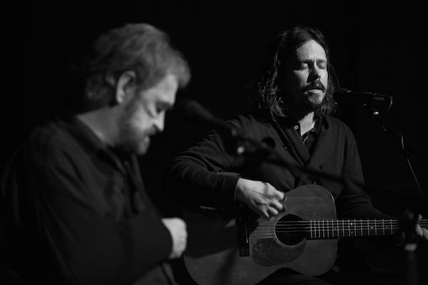 Donnie Fritts and John Paul White perform at the Single Lock Records showcase at 116 Mobile Street, in downtown Florence.