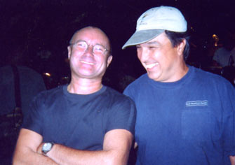 Ron and Phil Colllins of Genisis