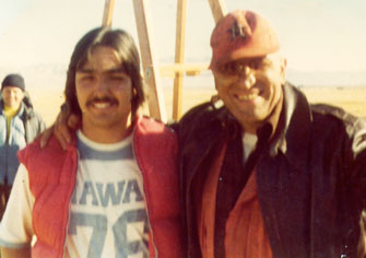 Ron with Kojak, telly Salvales. Great guy.