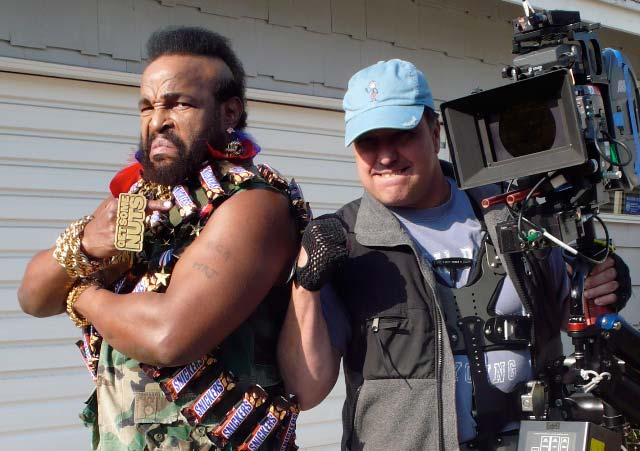"Mr. ""T"" . A reallly nice guy. Pity the fool who doesn't like Mr. ""T""."