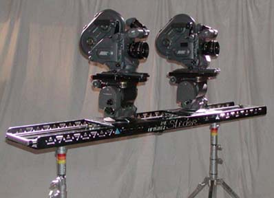 "The ""Original"" Slider...used as a two camera set up for a music video."