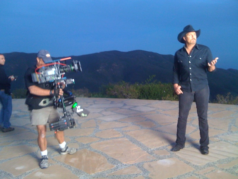 Shooting Trace Atkins with Steadicam