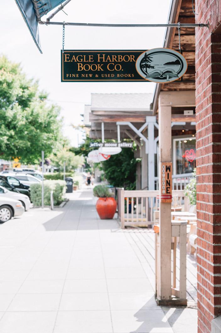 Eagle Harbor Book Talk for Honest Magazine