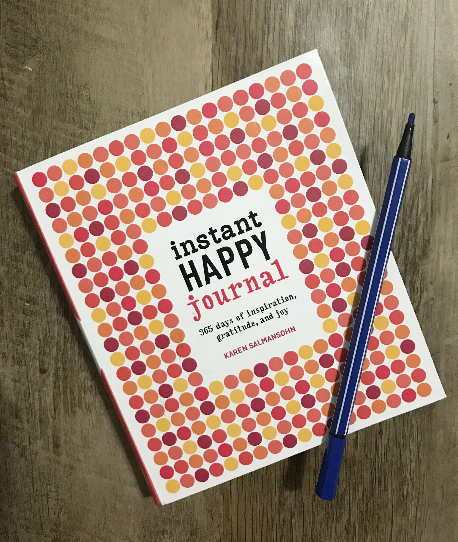 Instant Happy Journal Salmansohn