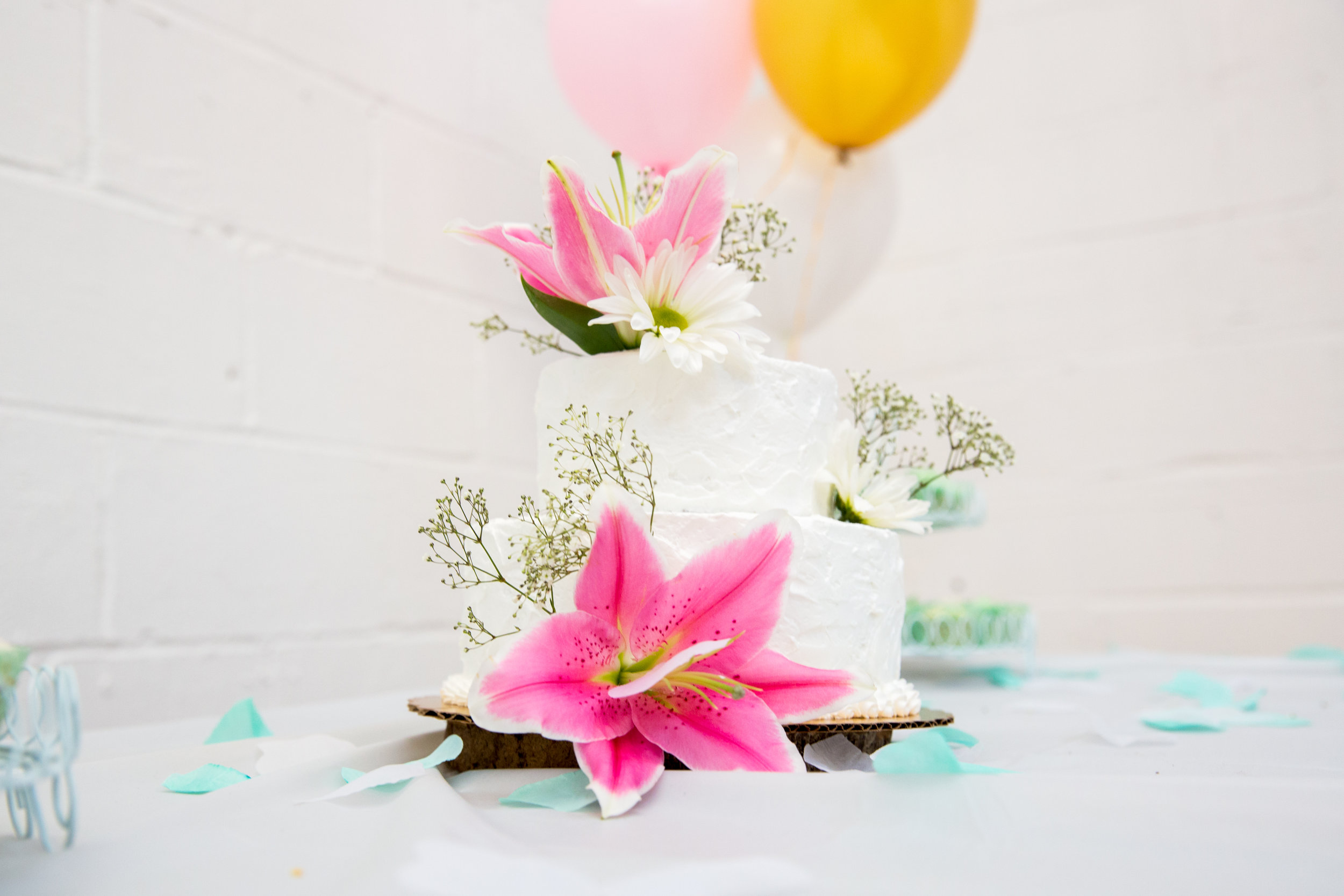 Floral Cake Baby Shower