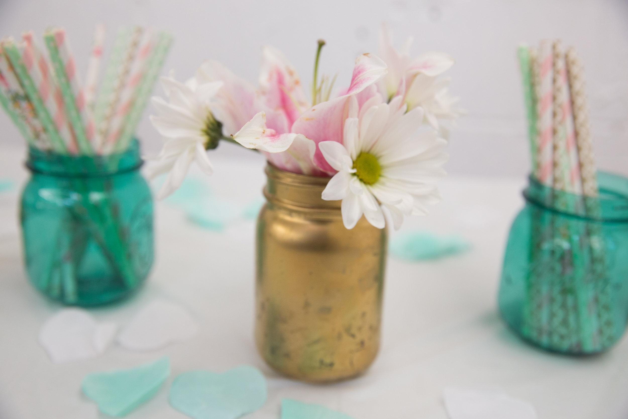 Floral Baby Shower Decoration Boho