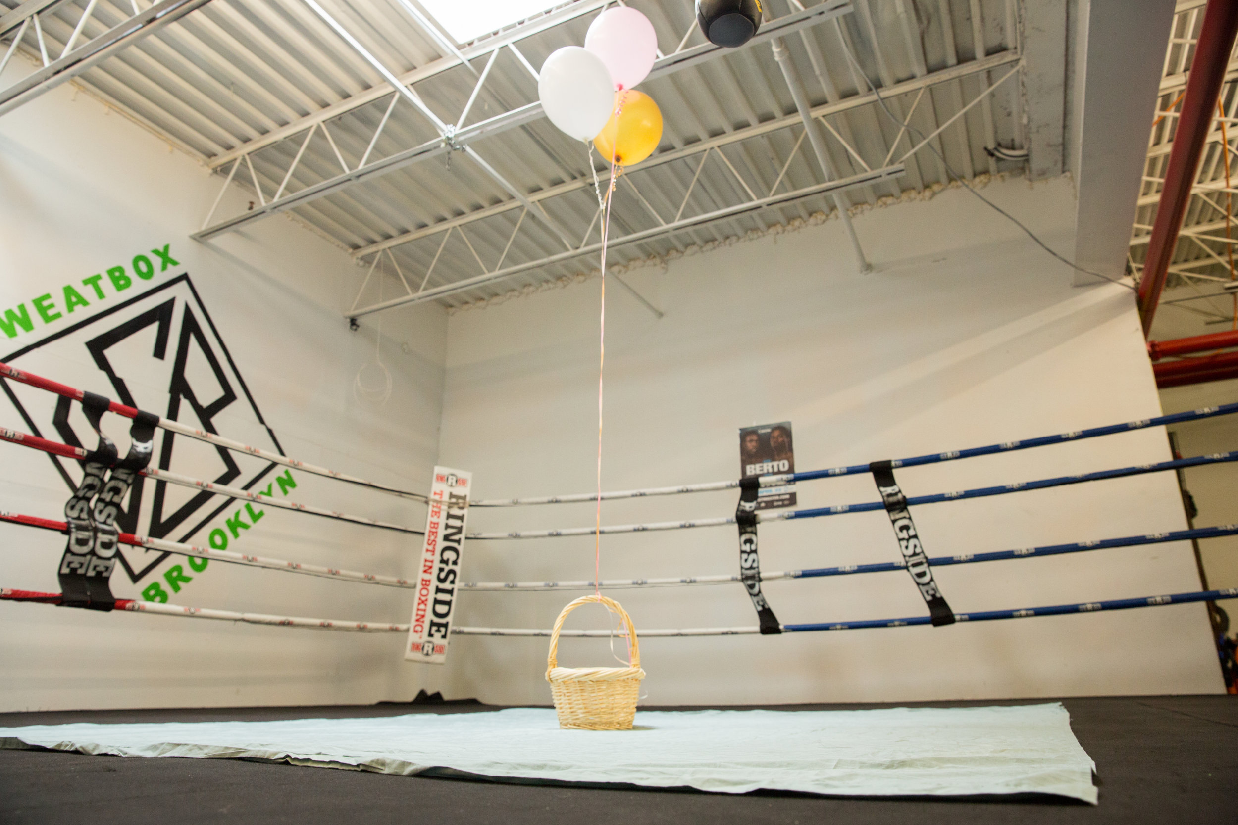 Picnic Baby Shower Indoors Boxing