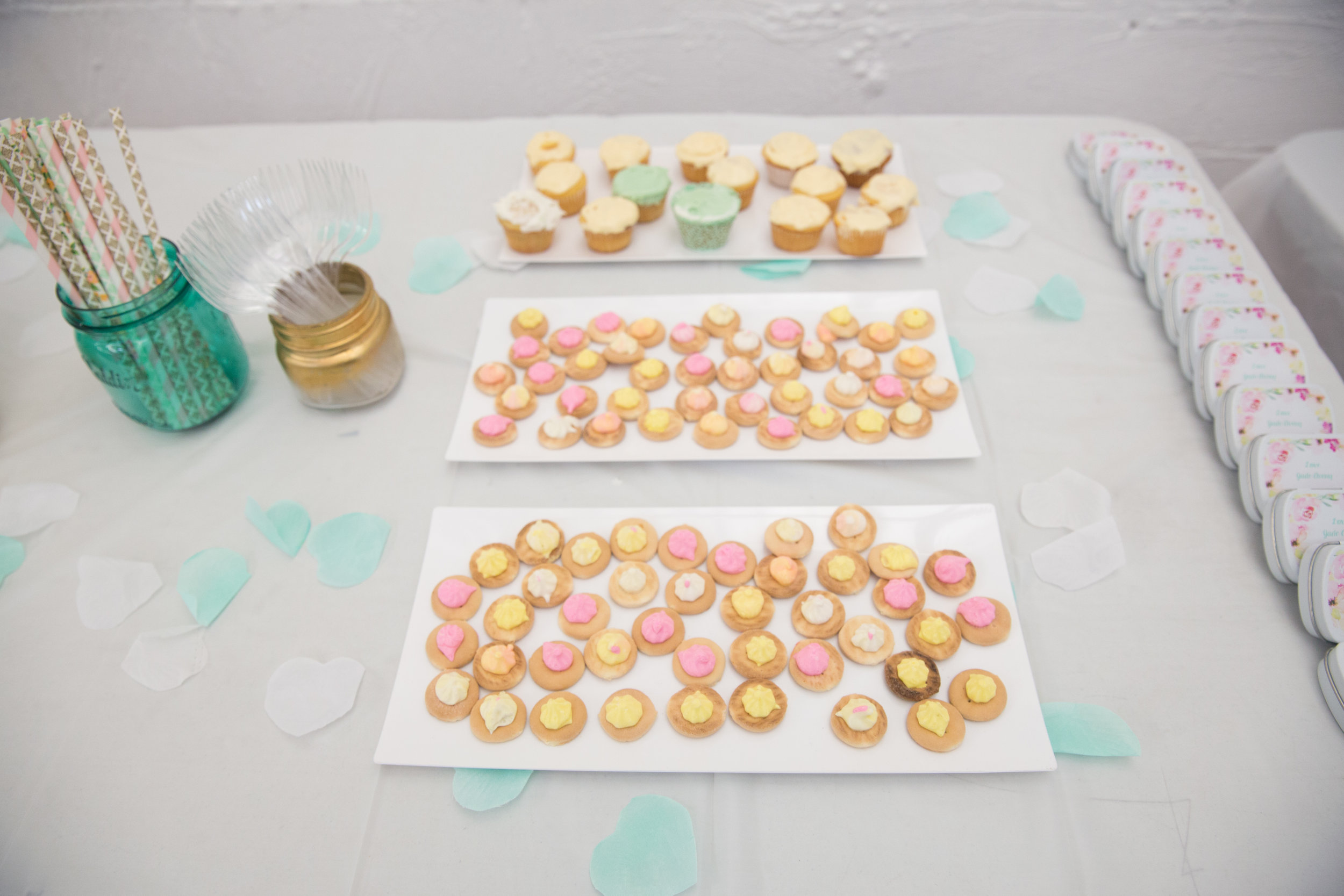 Floral Baby Shower appetizers