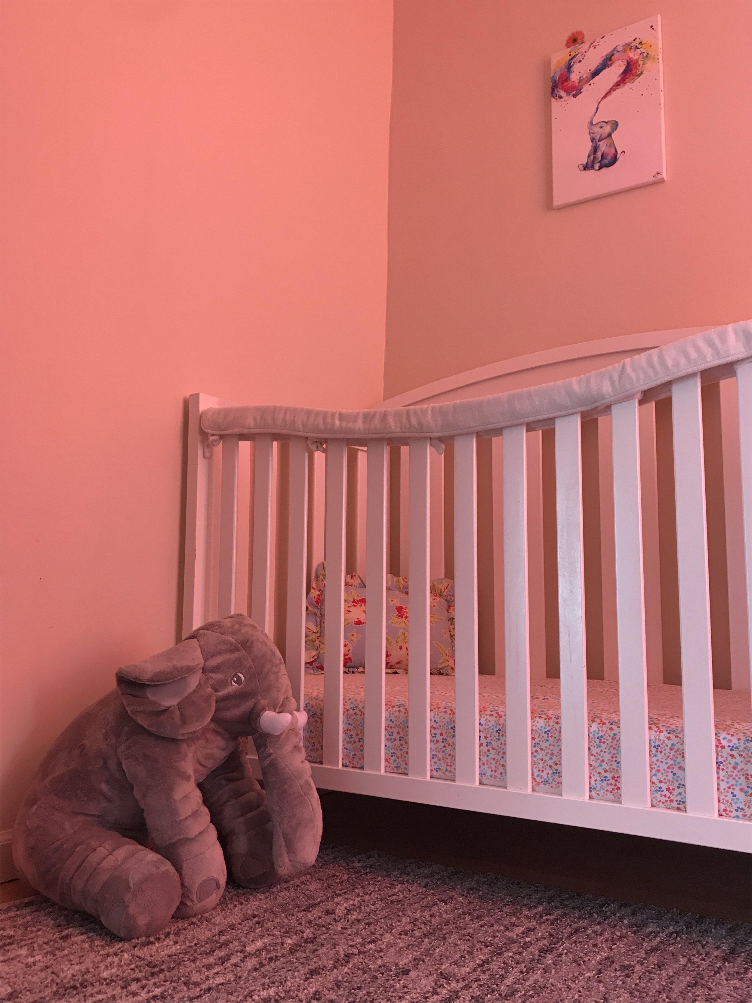 Elephant Inspired Nursery