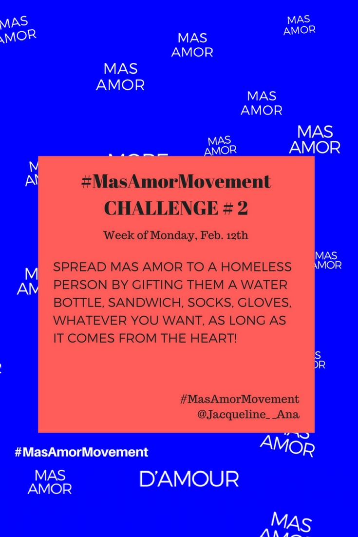 How To Spread More Love | Spread More Love | Mas Amor Movement | #MasAmorMovement | #MasAmor | #spreadlove | #SpreadMoreLove | #InstagramMovement | #InstagramChallenge | #LoveChallenge | #HowToSpreadMoreLove | http://anajacqueline.com