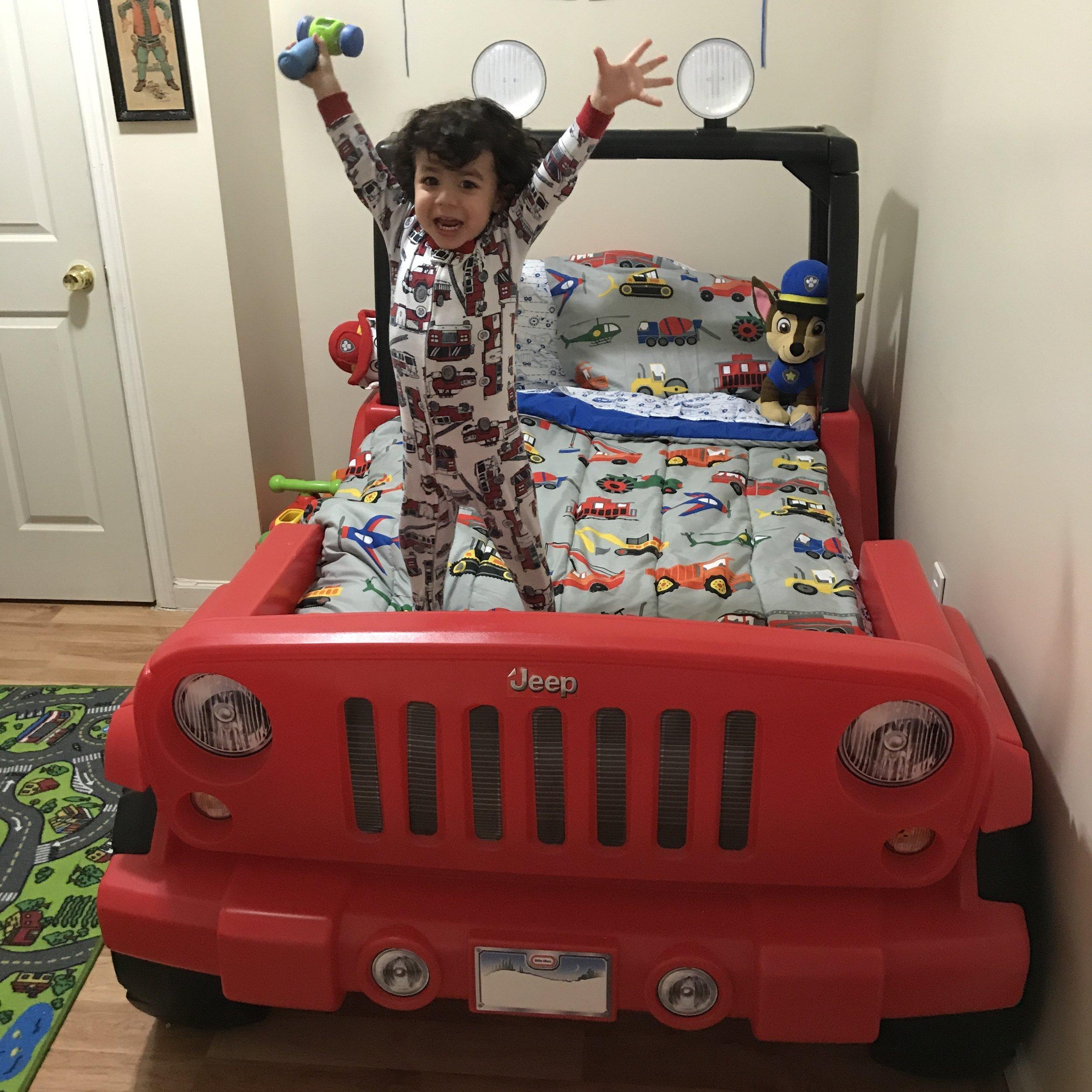 Jeep Toddler bedroom