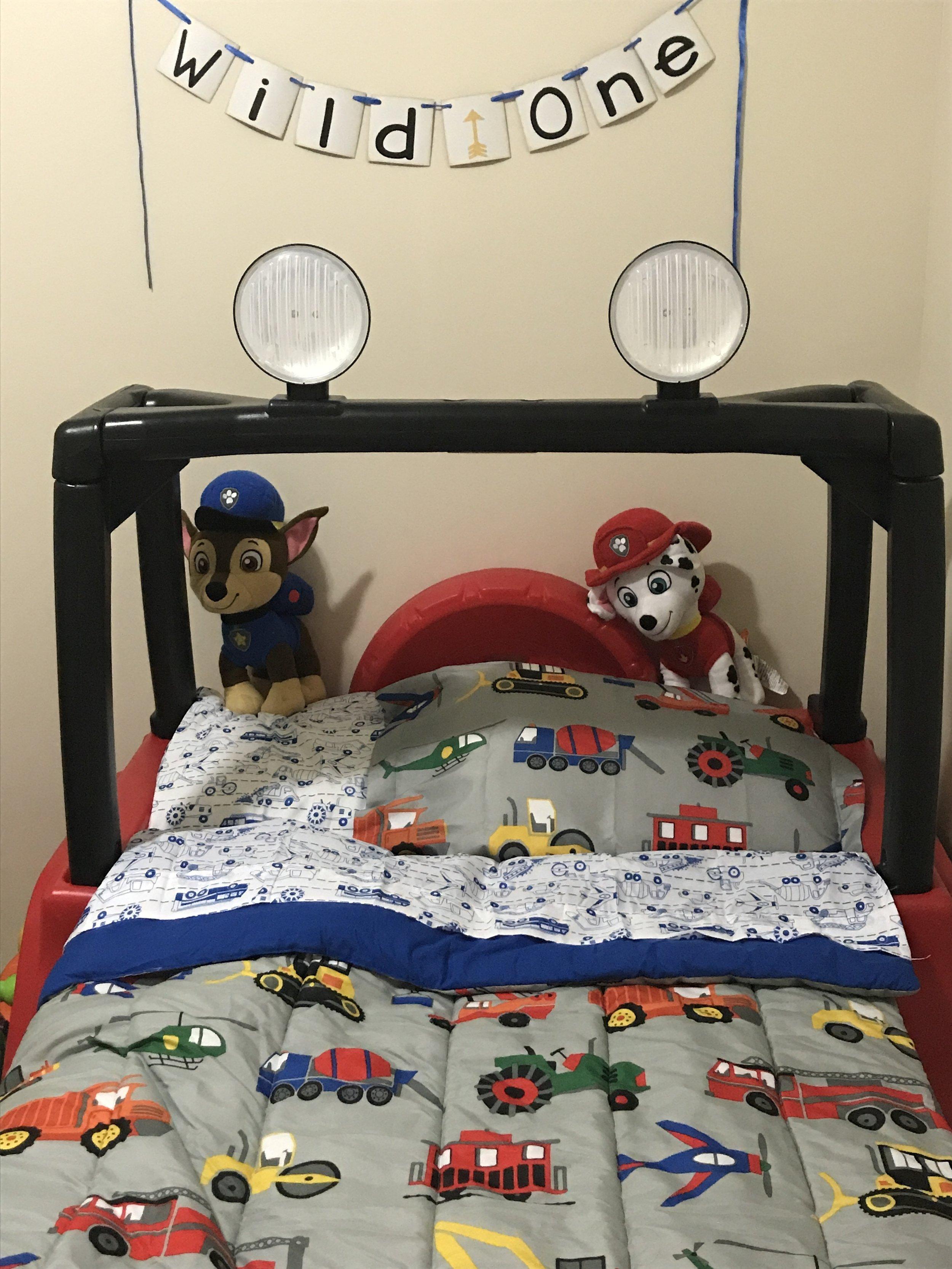 Paw Patrol Transportation toddler bedroom