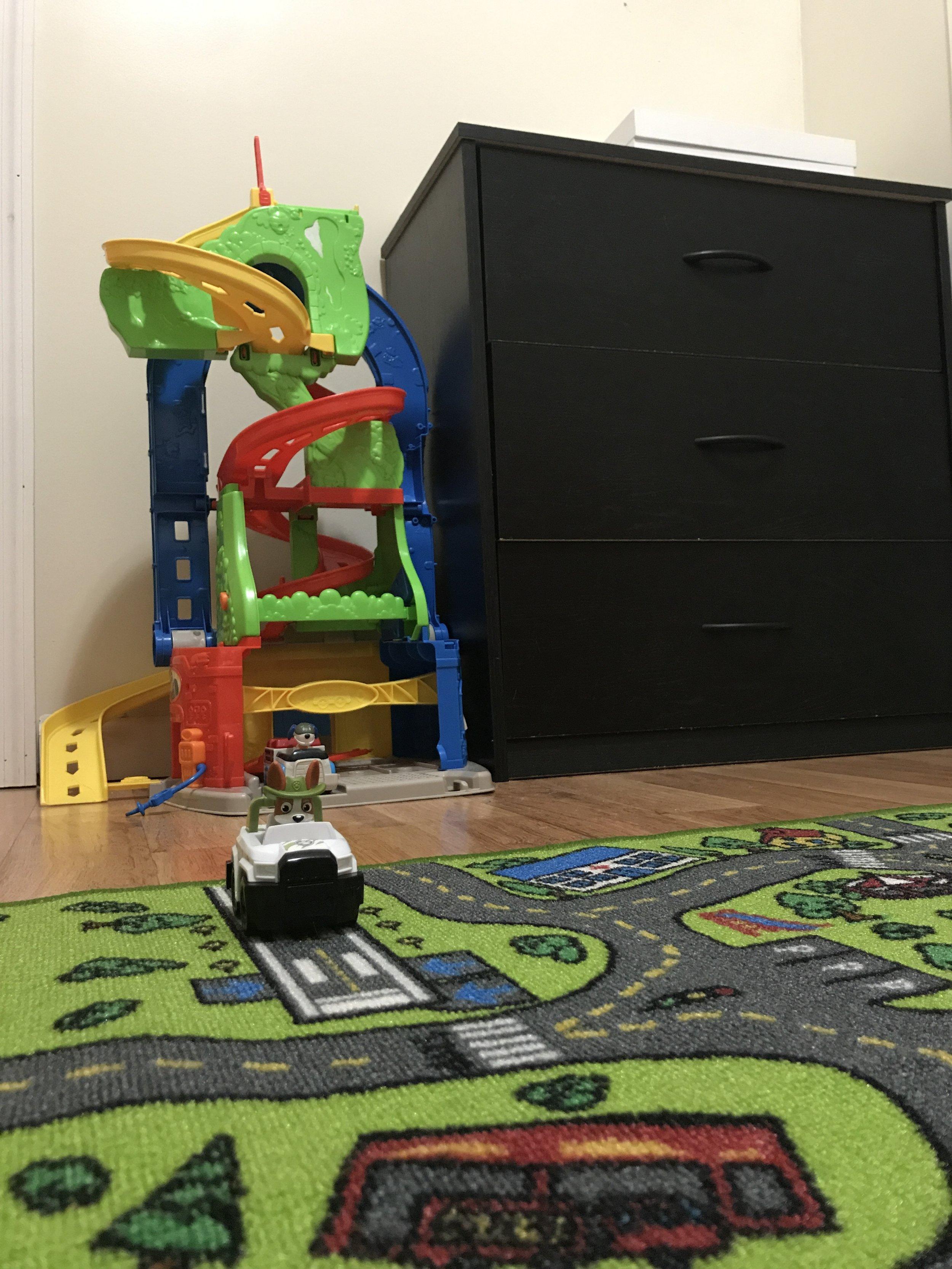 Cars Toddler Bedroom