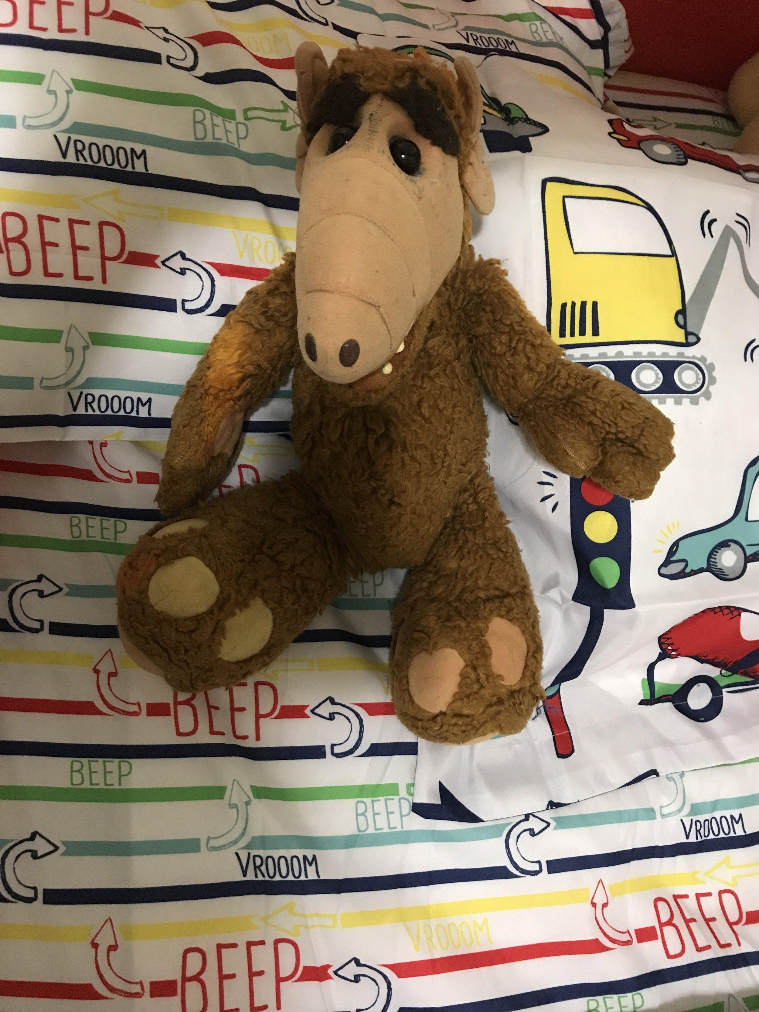 Alf plush toy