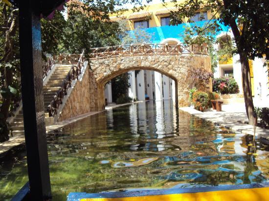 Occidental Xcaret river through resort.jpg