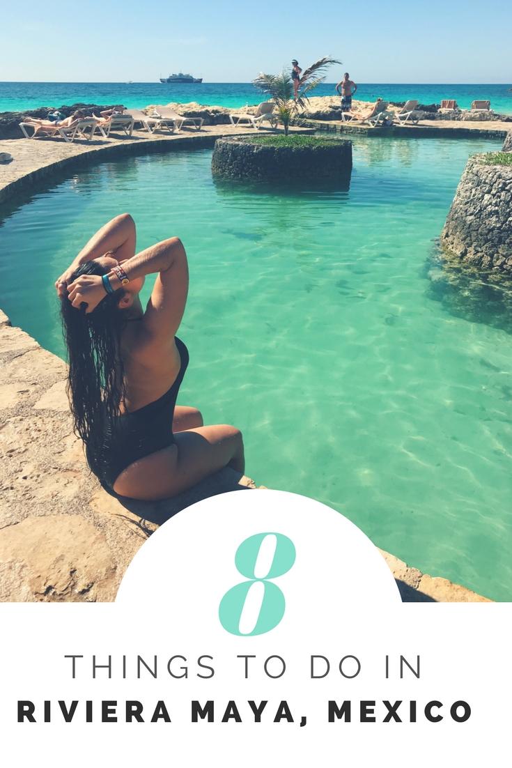 8 Things To Do In Riviera Maya | Things To Do Riviera Maya | #ThingsToDoRivieraMaya | Vacation Bucket List | #RomanticWeekendGetaway | #RivieraMayaVacation | #VacationBucketList | #VacationInMexico | www.AnaJacqueline.com