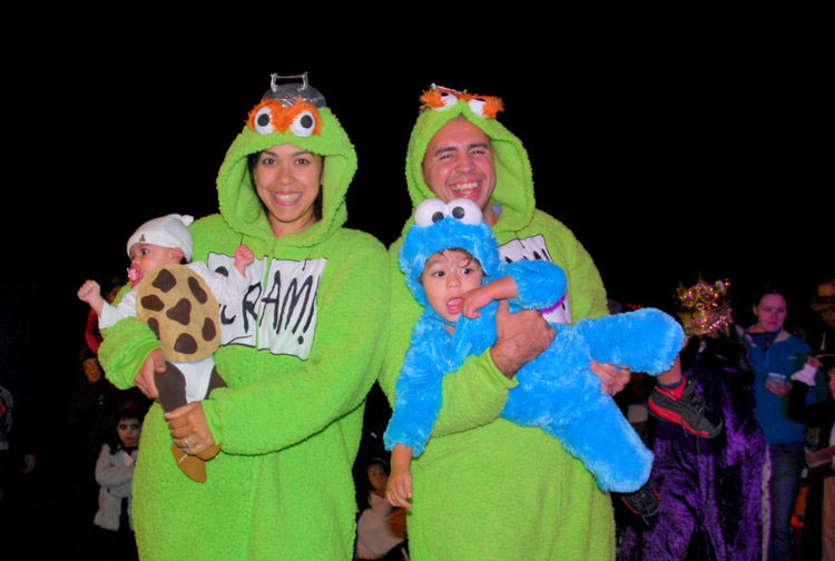 Grouch Family Halloween costumes