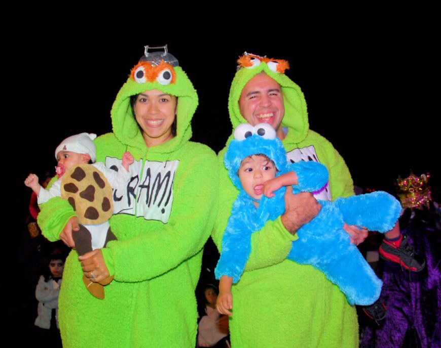Cookie Monster Grouch Halloween costumes