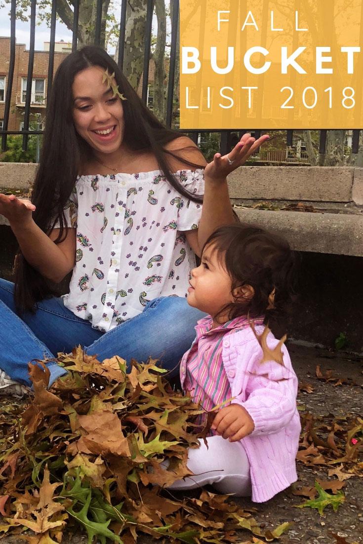 Fall Bucket List 2018 | Fall Bucket List | Bucket List | Things To Do Fall | #FallBucketList | www.AnaJacqueline.com