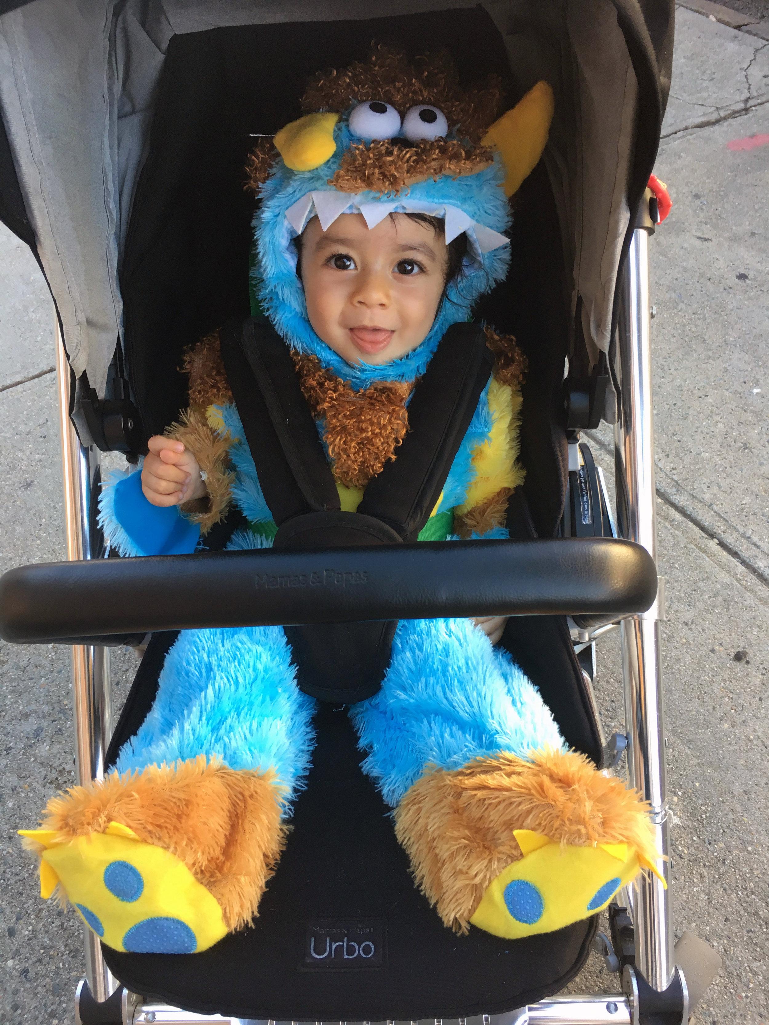 Toddler Monster Halloween costume