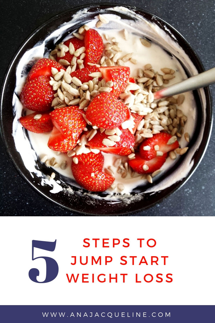 Steps To Jump Start Weight Loss | Weight Loss Tips | Easy Weight Loss Tips | Easy Diet Tips | Healthy Lifestyle Tips | Fit Lifestyle | www.AnaJacqueline.com