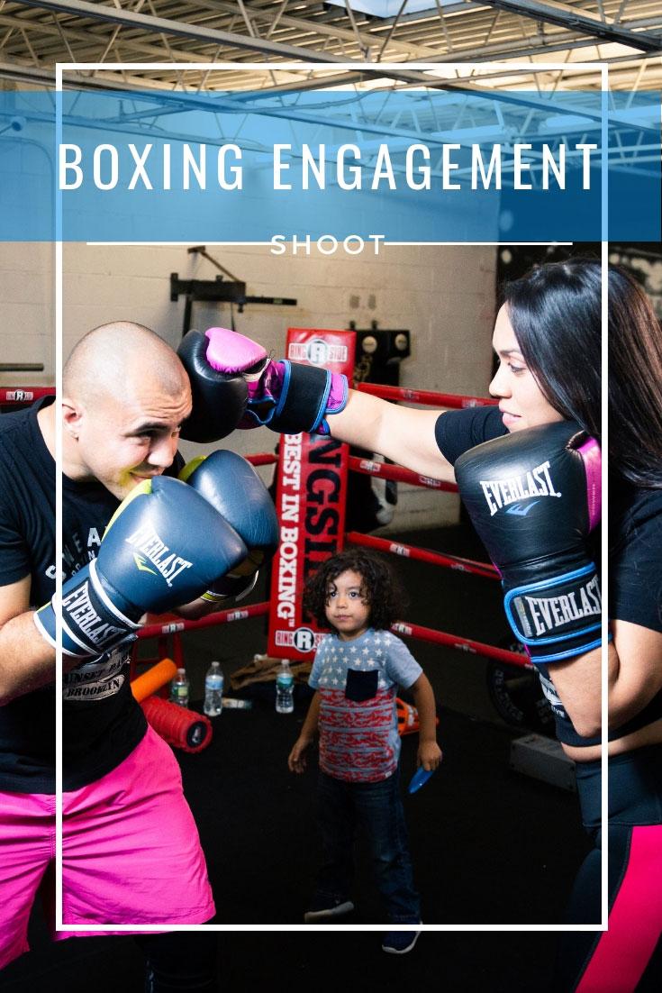 Boxing Engagement Shoot | Fitness Engagement Shoot | Boxing Engagement Session | Fitness Engagement Session | Fun Engagement Shoot | Creative Engagement Shoot | Engagement Shoot Ideas