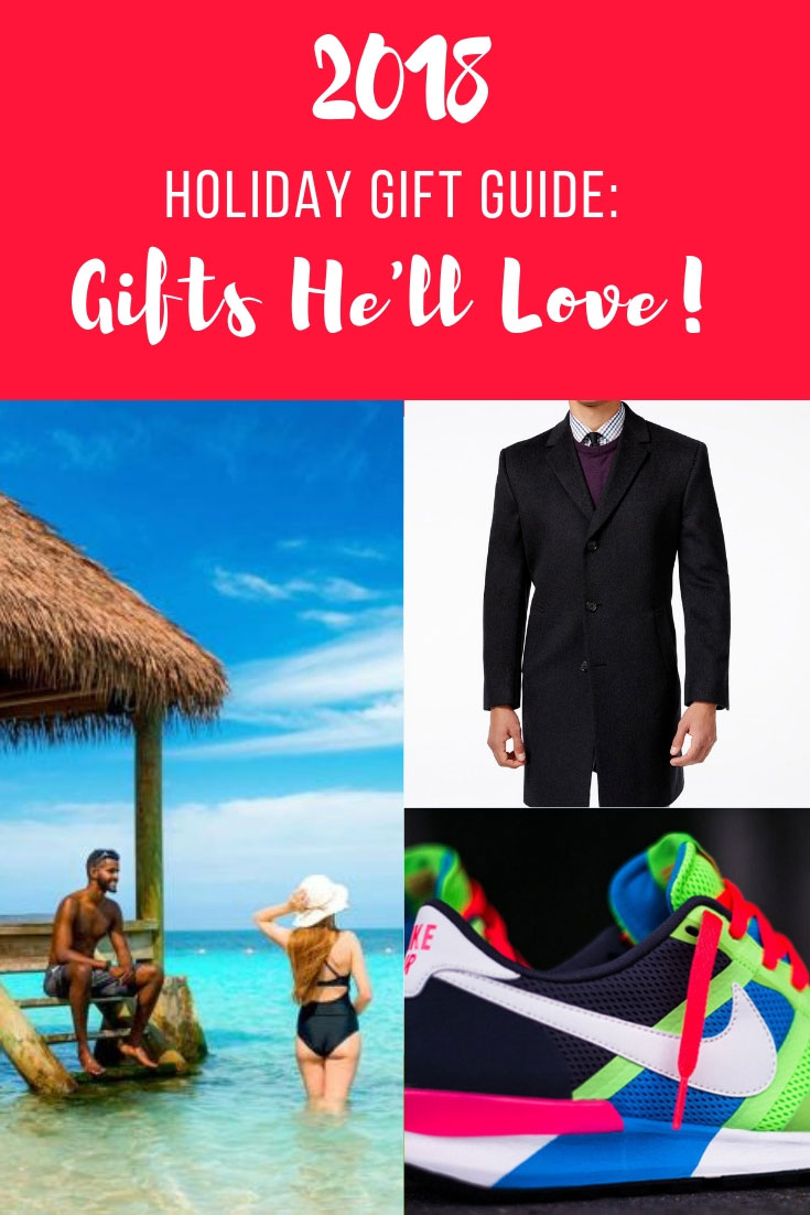 2018 Holiday Gift Guide | 2018 Holiday Gift Guide For Him | 2018 Gifts He'll Love | Gifts For Men | Secret Santa Gift Ideas | Best Gifts Men | Nike Air Pegasus | Nike Air Pegasus 83/30 | Hennessy | RL Men Accessories | Water Proof Speakers | www.AnaJacqueline.com