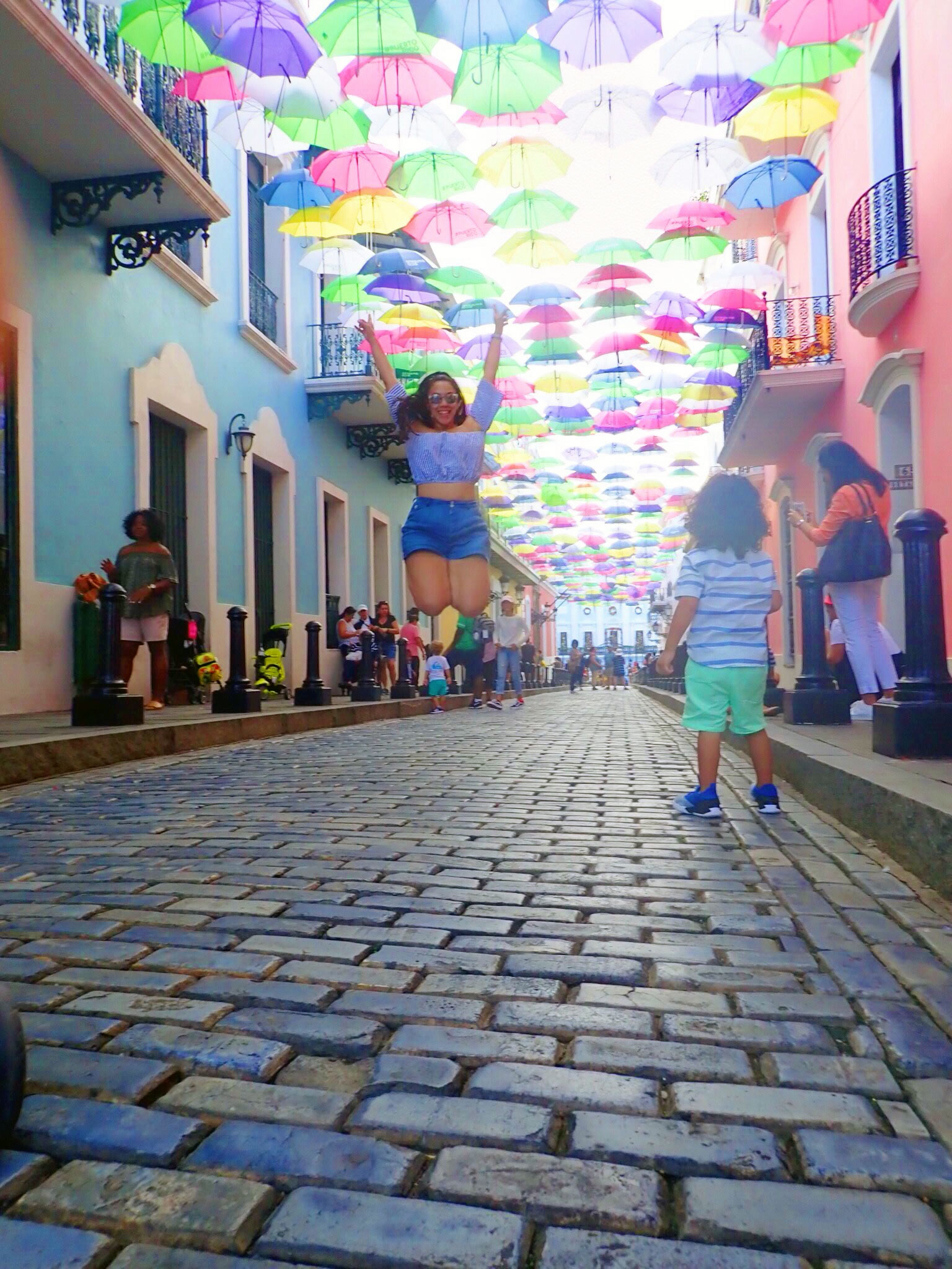 Paseo de las Sombrillas   Fortaleza Street   Old San Juan   Viejo San Juan   Things to do Old San Juan   Things to do Viejo San Juan   Puerto Rico Things To Do   www.anajacqueline.com