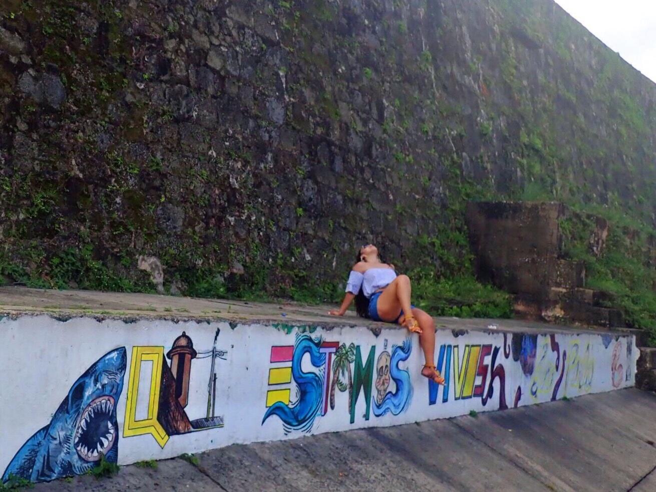 La Perla   La Perla, Puerto Rico   La Perla street art   Old San Juan street art   Old San Juan   Viejo San Juan   Things to do Old San Juan   Things to do Viejo San Juan   Puerto Rico Things To Do   www.anajacqueline.com