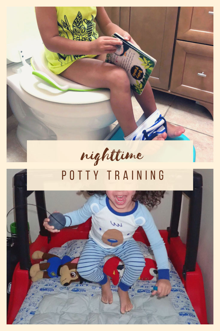 Bedtime Potty Training | Nighttime Potty Training | 3 Day Potty Training | 3 Day Potty Training Method |  Potty Training | Potty Training Boys | Potty Training Sleep | Toddler Life | www.anajacqueline.com
