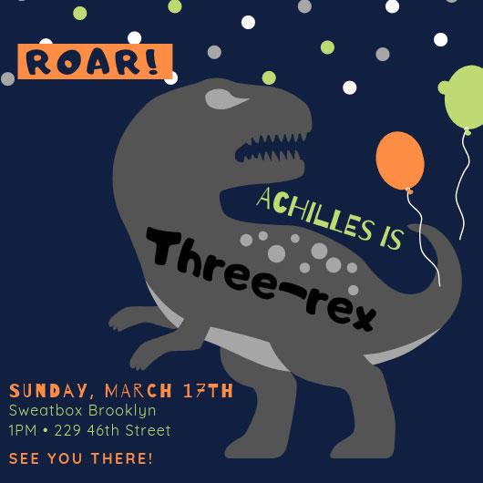 Dinosaur Third Birthday Invitation.jpg